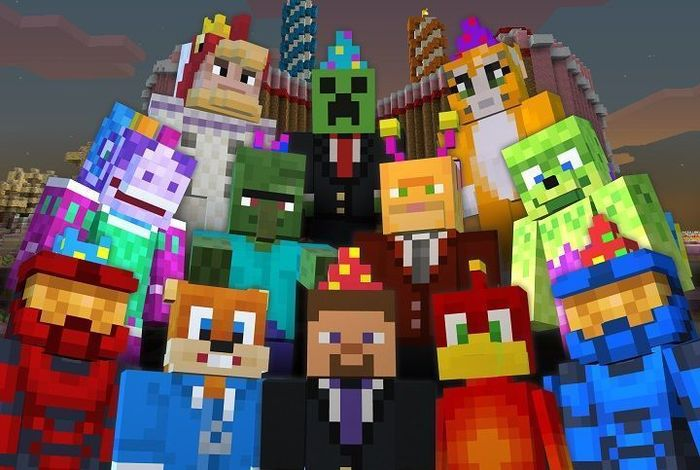 Design your very own Minecraft avatar!