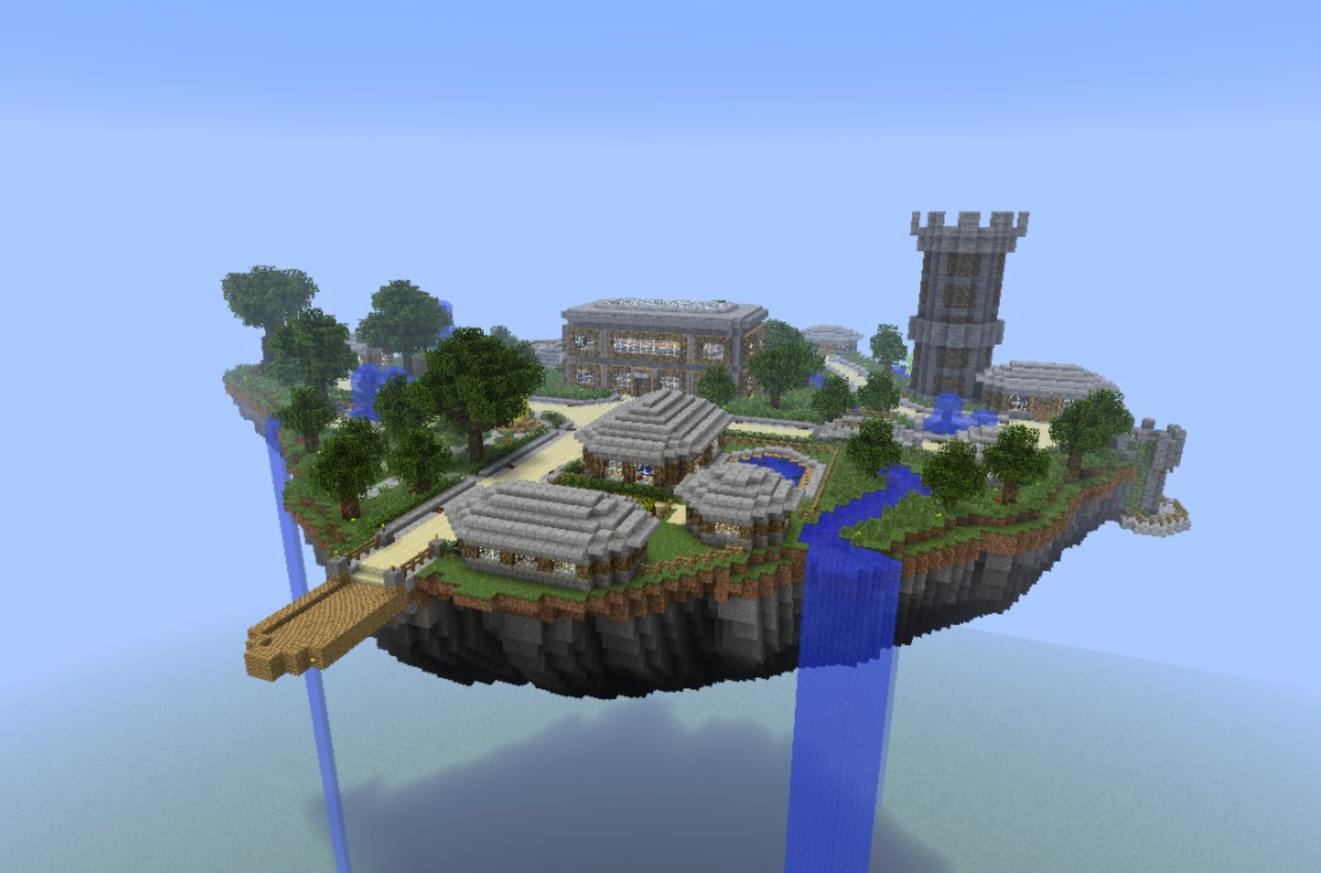 Join a team of builders to design a fantasy castle in a sprawling Minecraft kingdom!