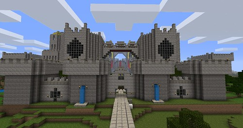 Come together with fellow Minecraft enthusiasts to build a fantasy castle kingdom in a sprawling Minecraft landscape.