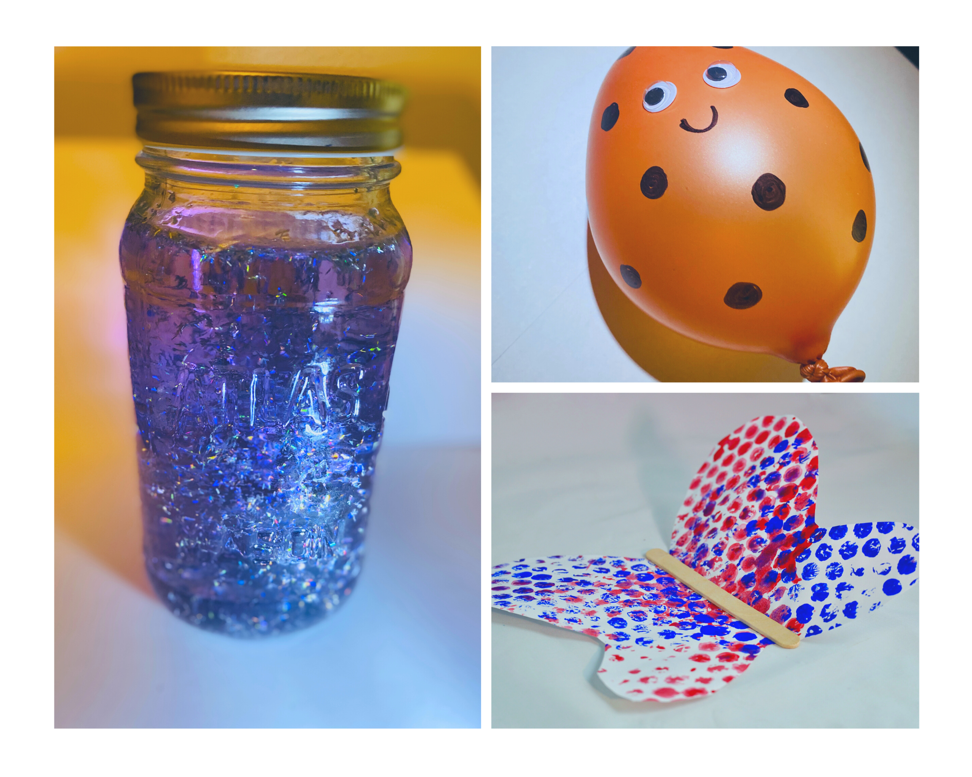 Learn to make stress balls, soap jellies, and slime!