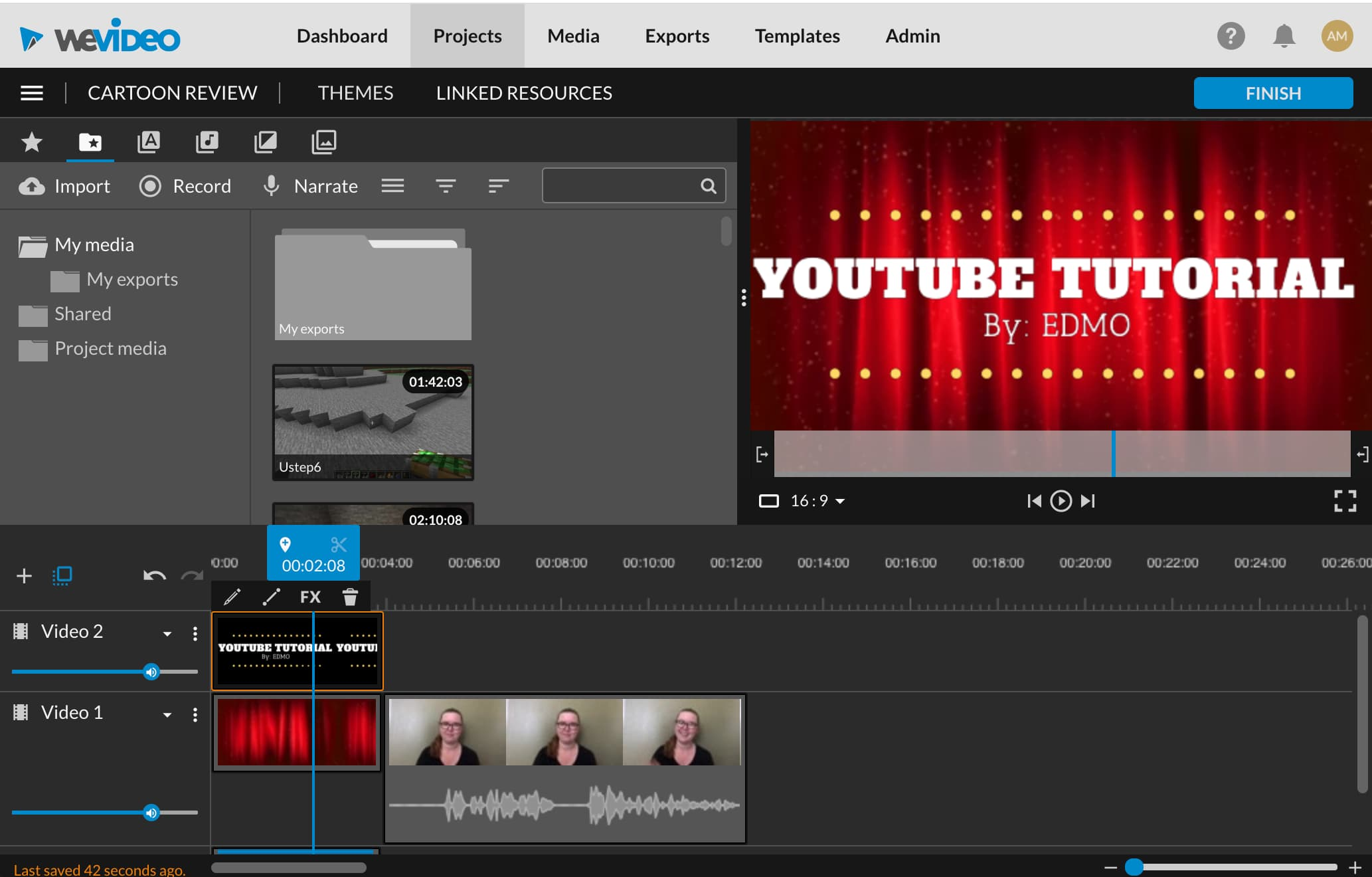 Learn to film and edit YouTube-style videos that highlight who you are and what you care about!