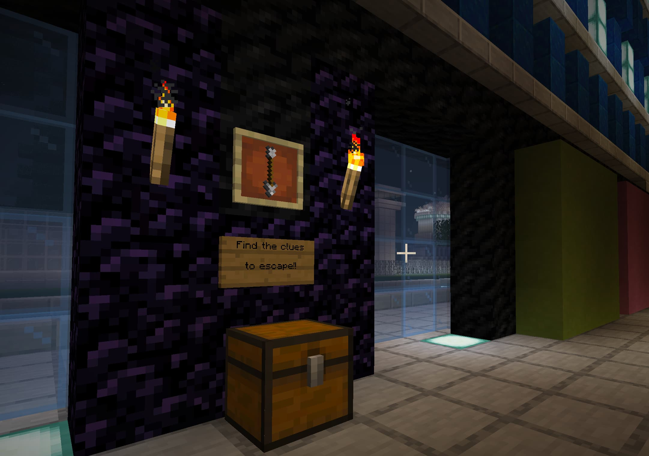 Jump into a world of mystery while playing a series of mini games in Minecraft!