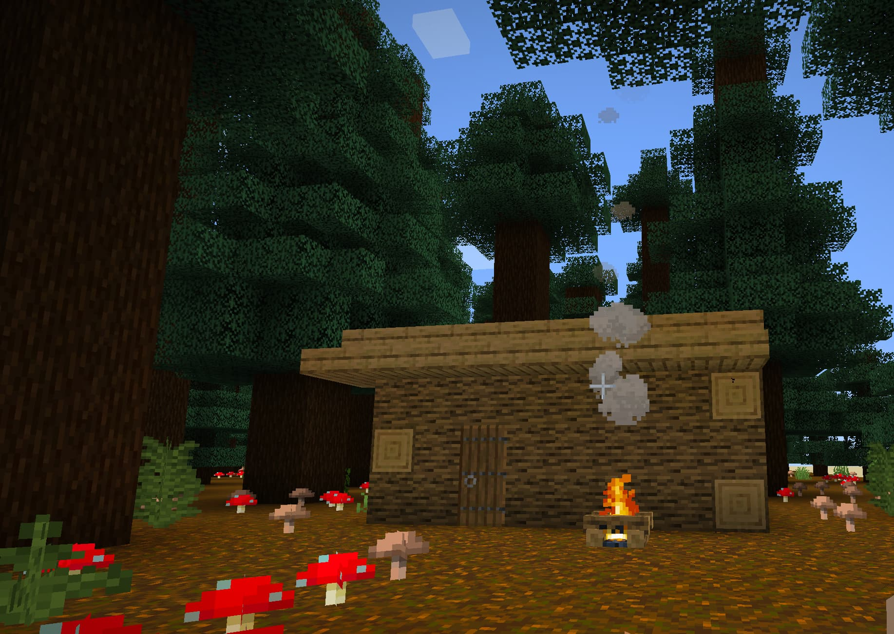 Build your very own Destination Wilderness alongside other Minecraft fans!