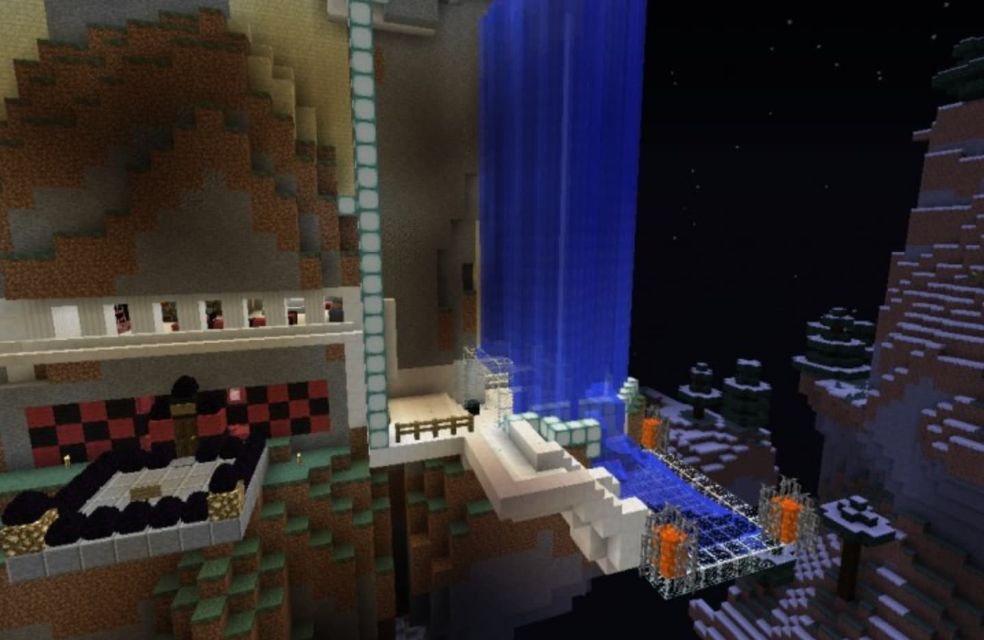 Join other Minecraft builders to construct amazing superhero hideouts!