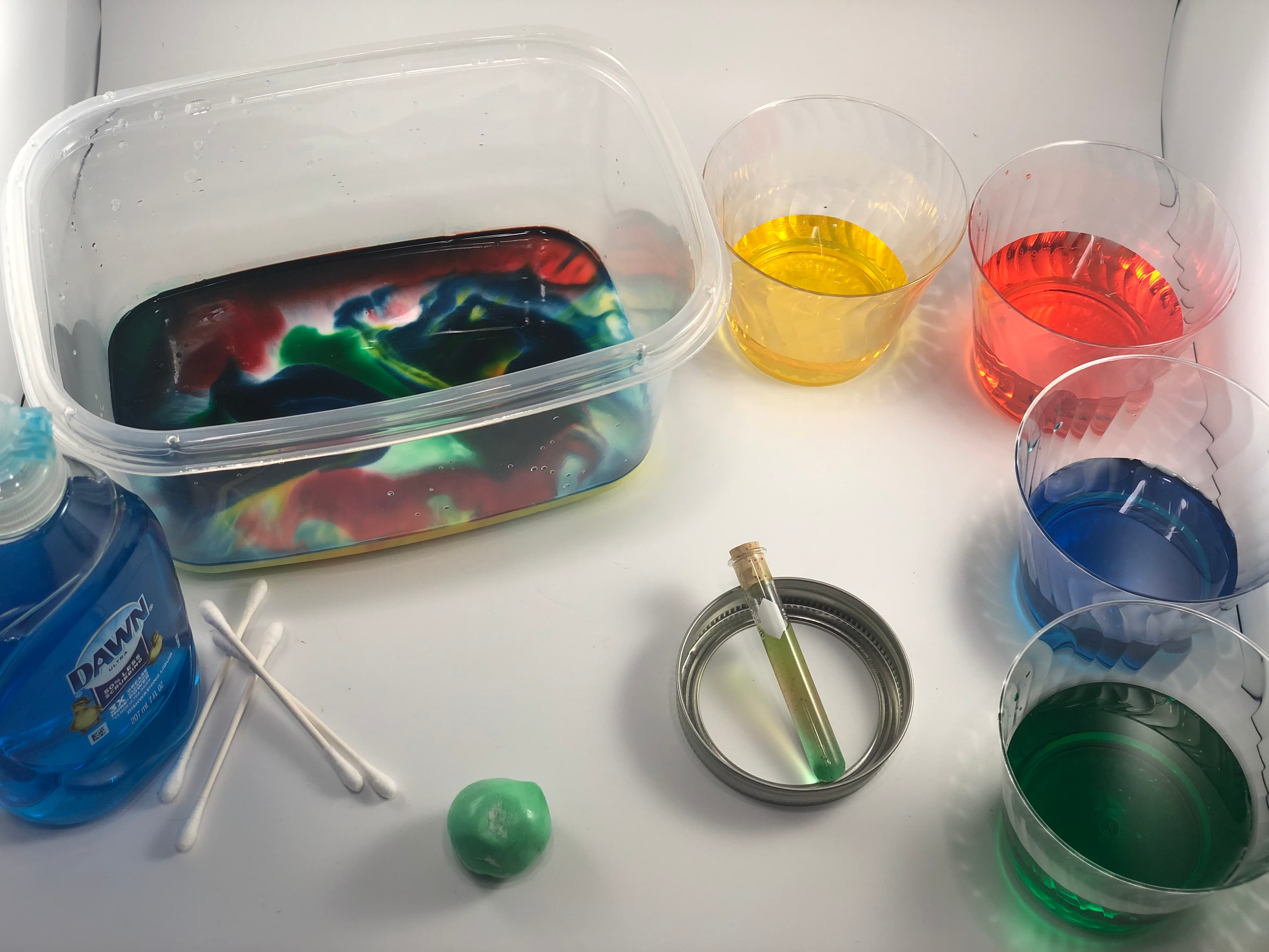 Learn about atoms, molecules, and reactions through hands-on chemistry experiments!