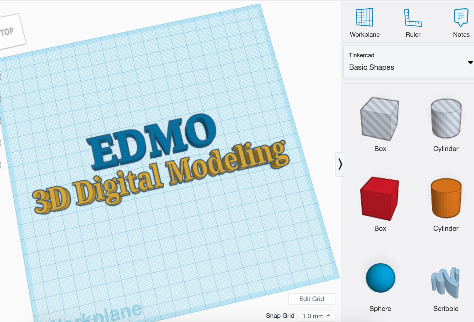 Build 3D digital models using the program TinkerCAD to complete fun design challenges!