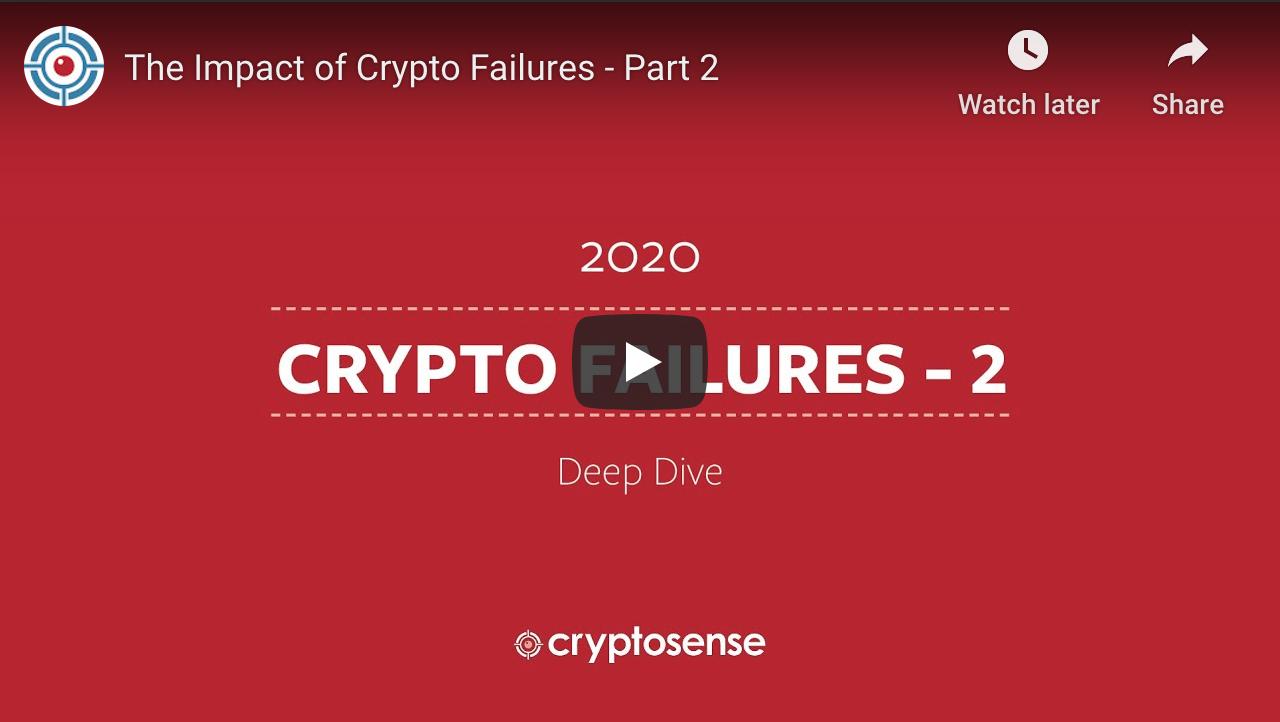 Crypto failures webinar Part 2