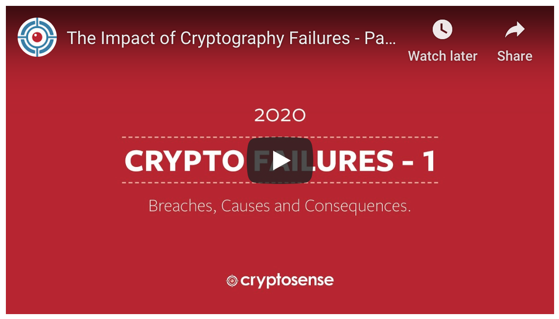 Crypto Failures webinar