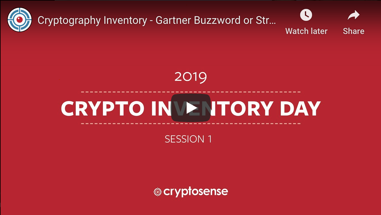 Crypto Inventory webinar