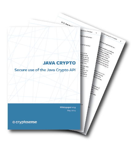 Java Crypto White Paper