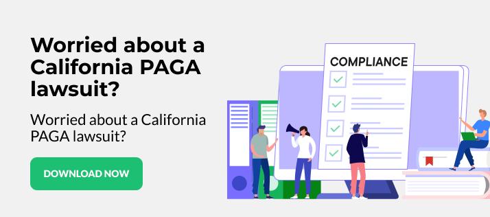 California Compliance Checklist