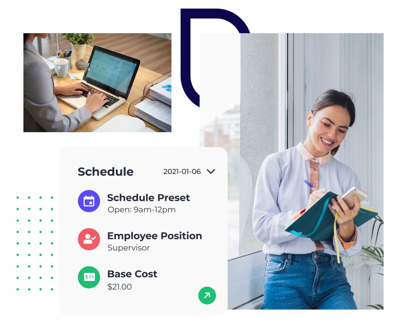 Push employee scheduling software
