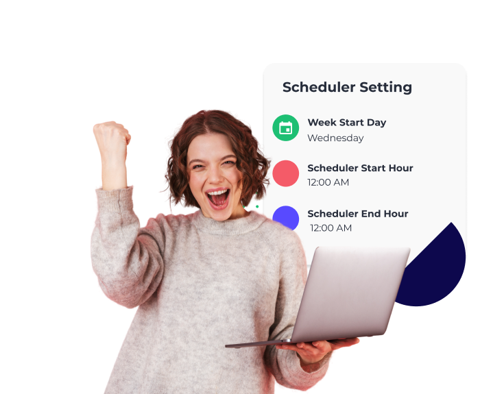 Push helps you forecast your schedules more accurately