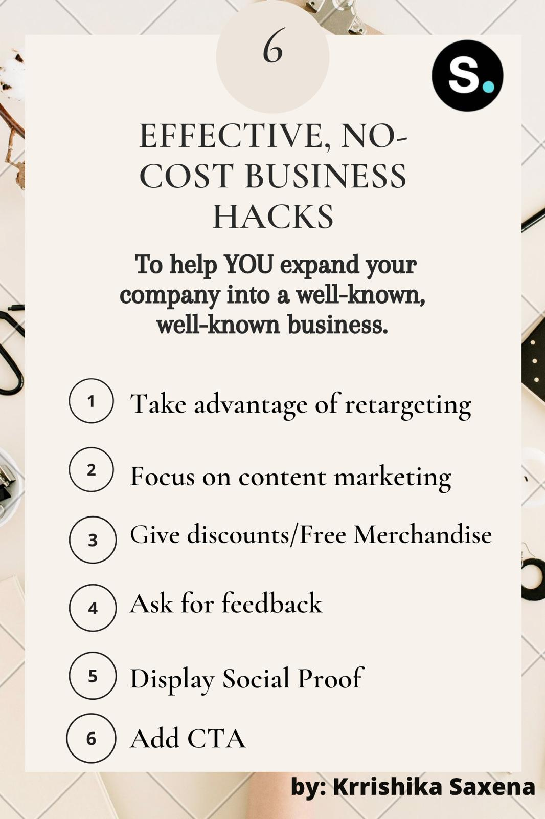 Small Business Tips Infographic STANDOUT DIGITAL
