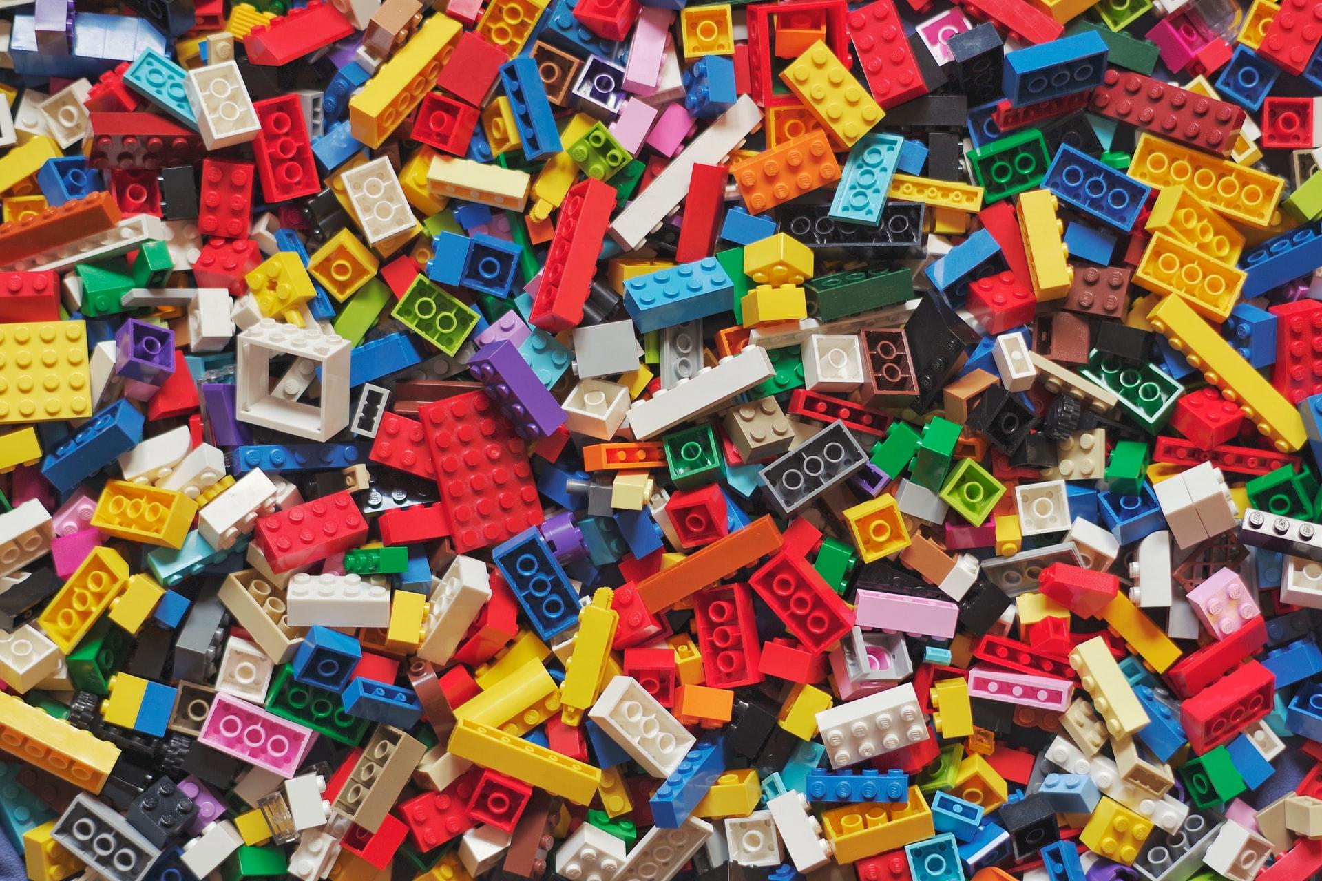 An image of jumbled legos