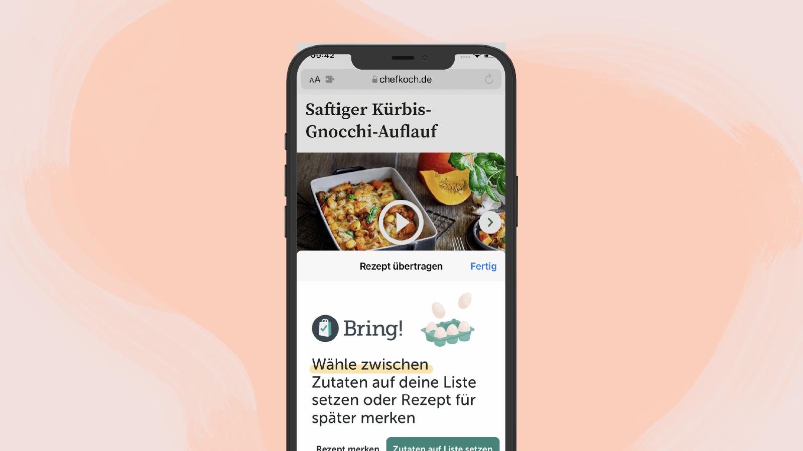 NEUE BRING! FEATURES FÜR iOS15