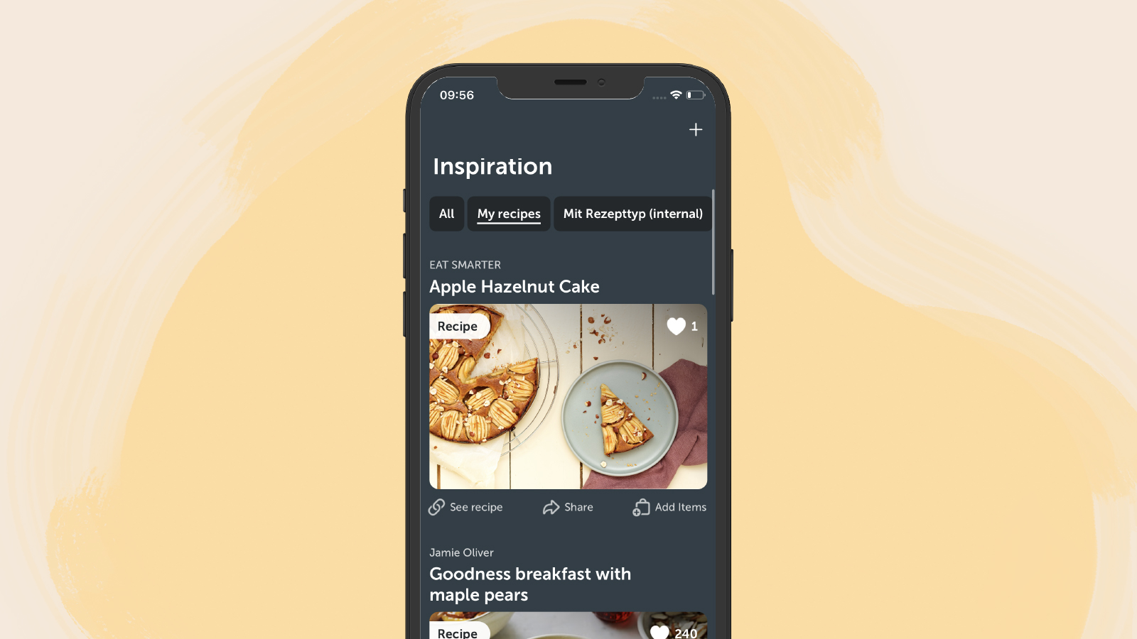 You will find the imported recipe in your recipe collection in Bring!