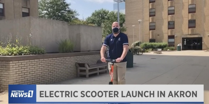 The University of Akron's E-Scooter Experience