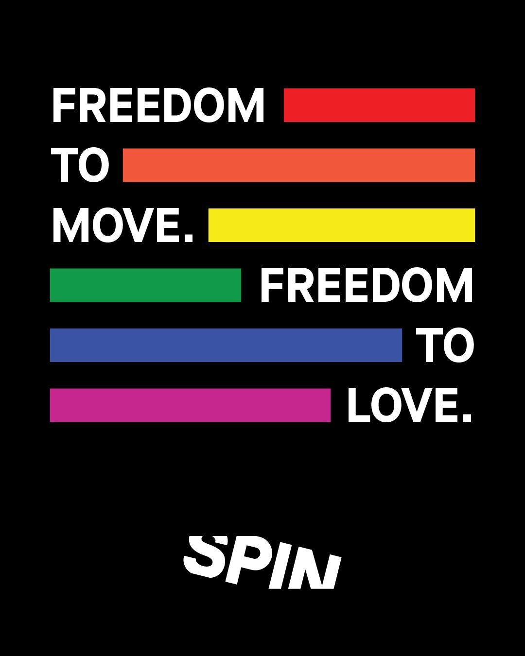 Pride Month at Spin