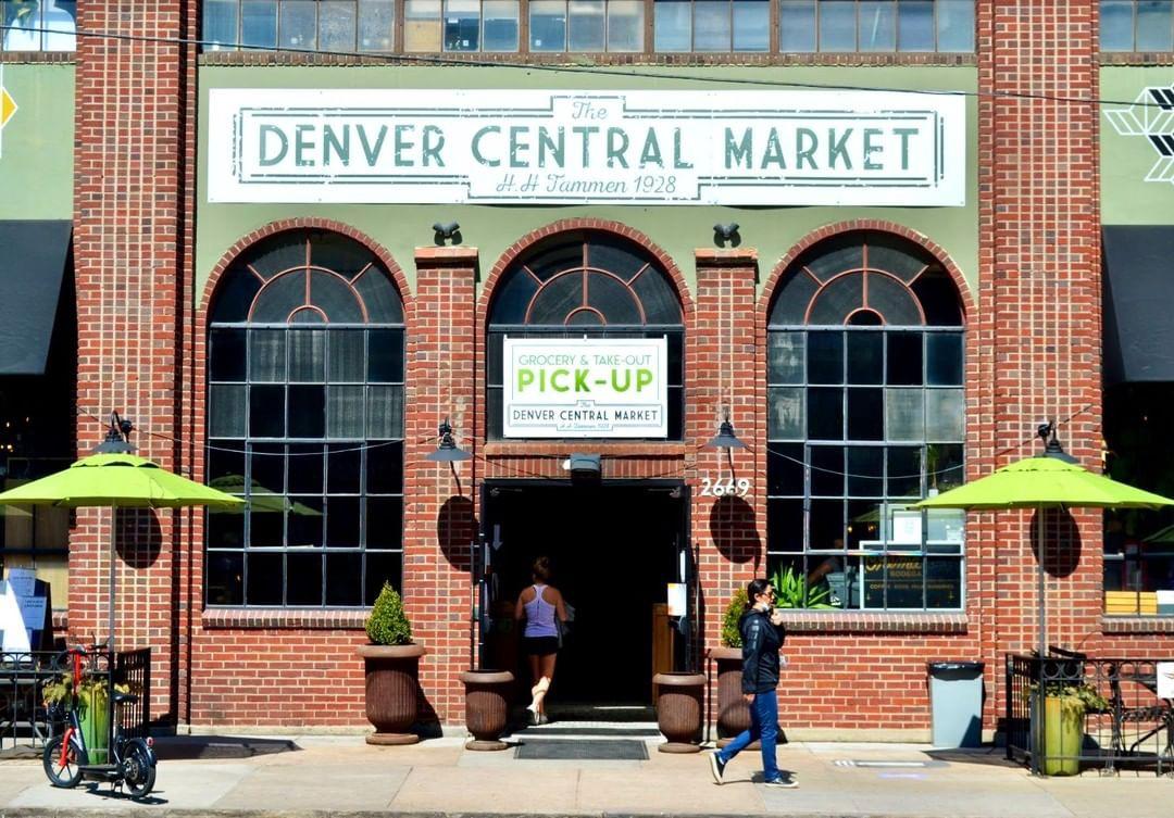 Denver city view