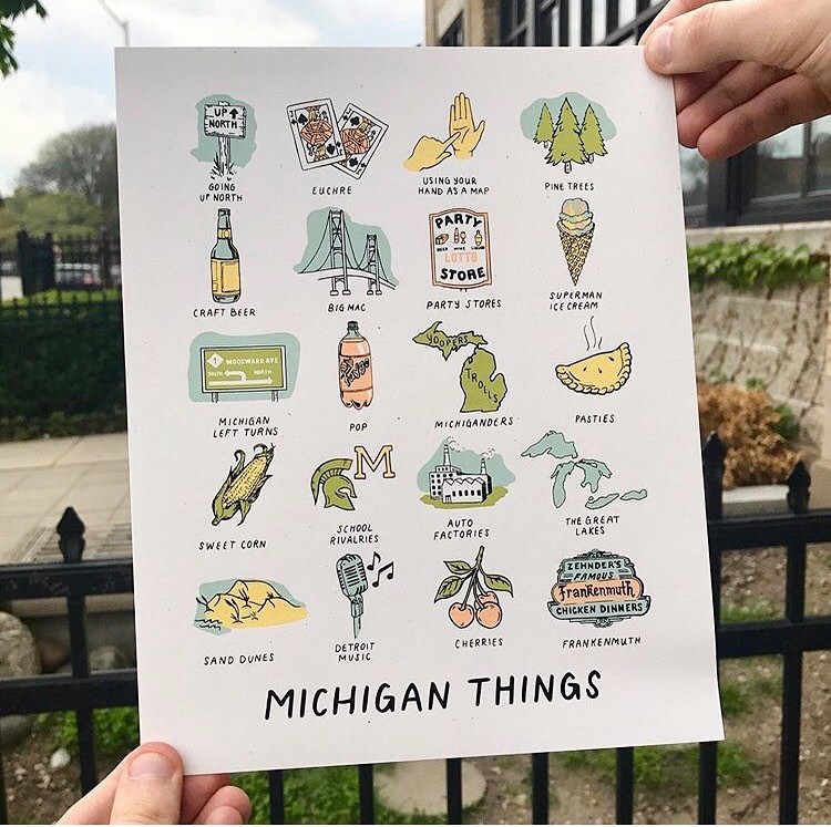 The Motor City Detroit Michigan