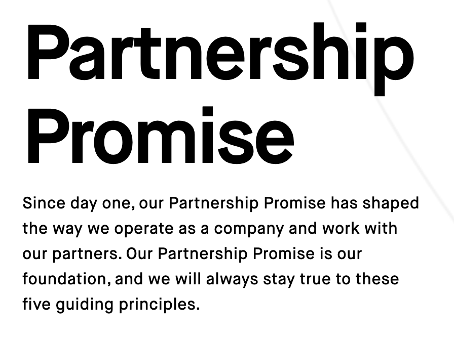 Spin Partnership Promise
