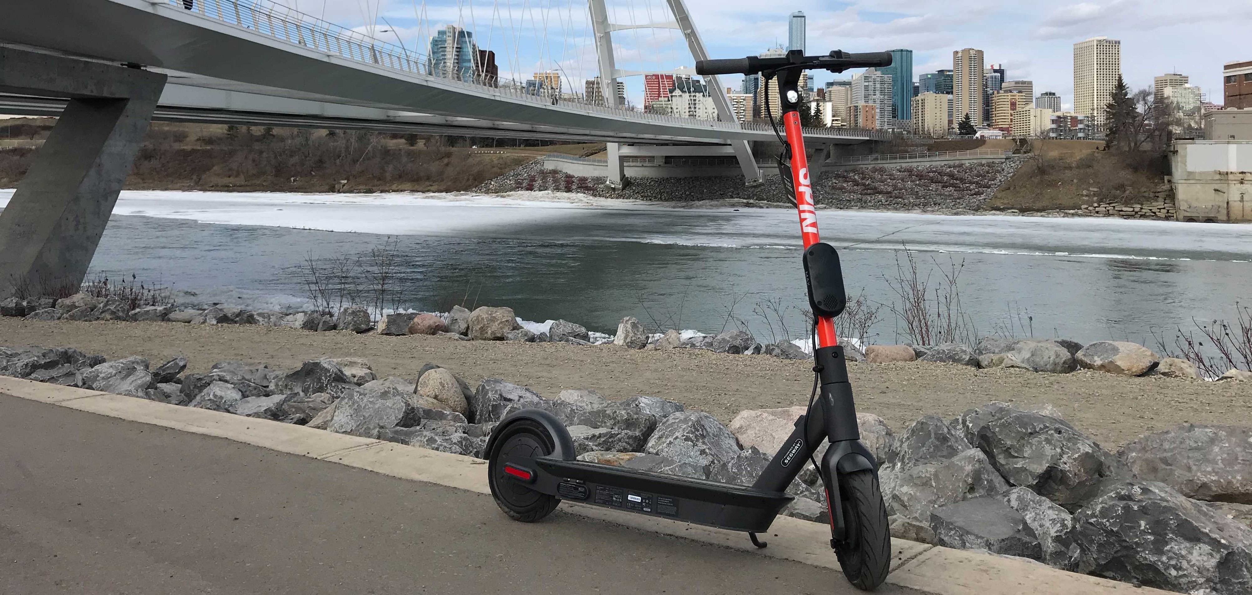 Spin scooter in Canada