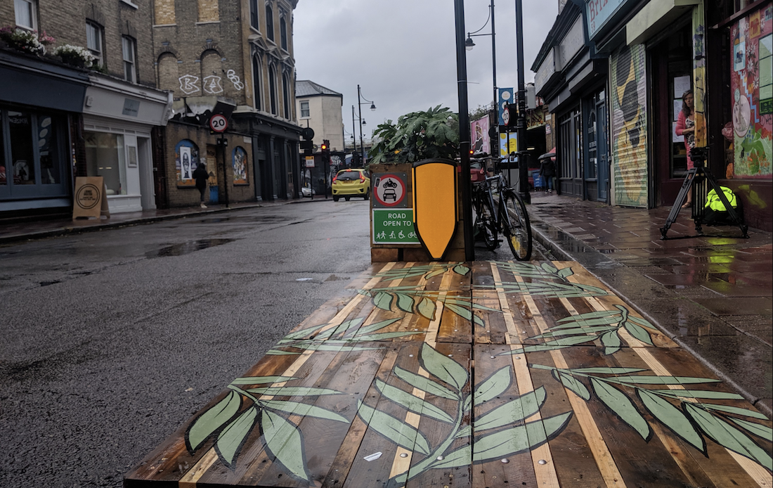 Upcycling for Safer Streets in London's Brixton Market