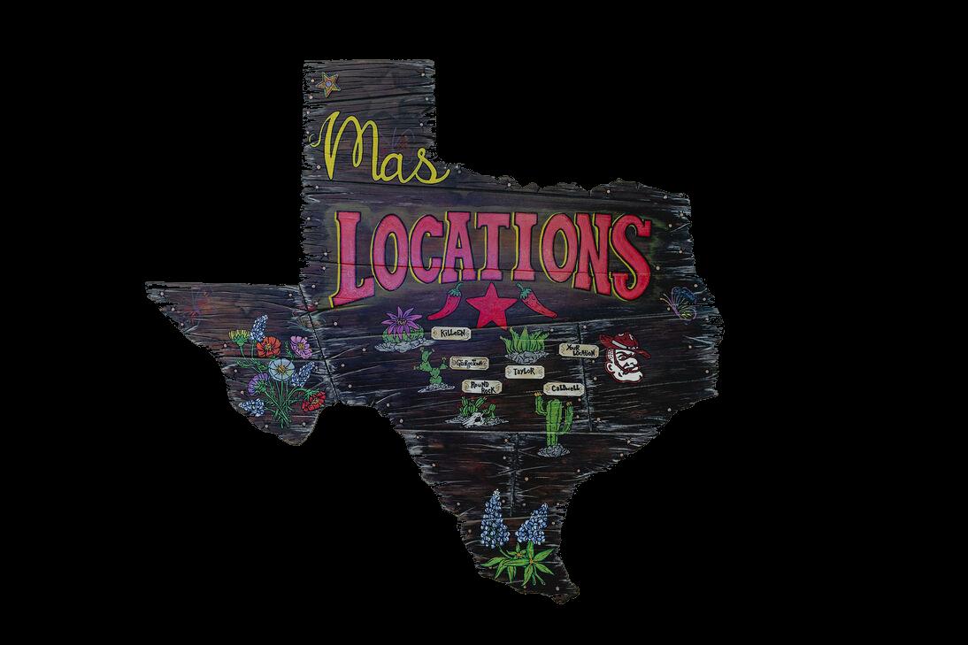 Masfajitas Locations