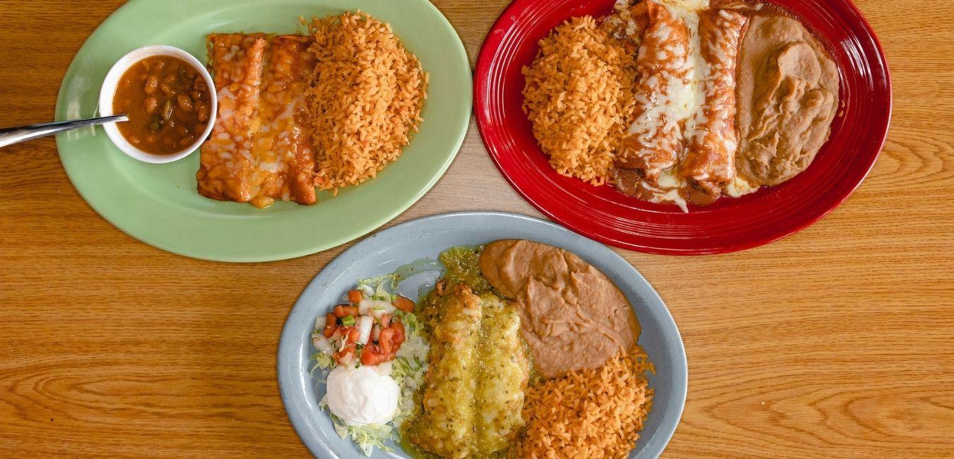 Masfajitas Tex-Mex and Mexican Enchiladas