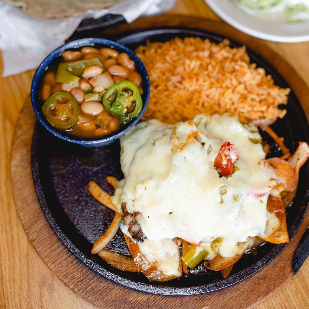 Masfajitas Tex-Mex and Mexican Steak Tampiquena Fajitas