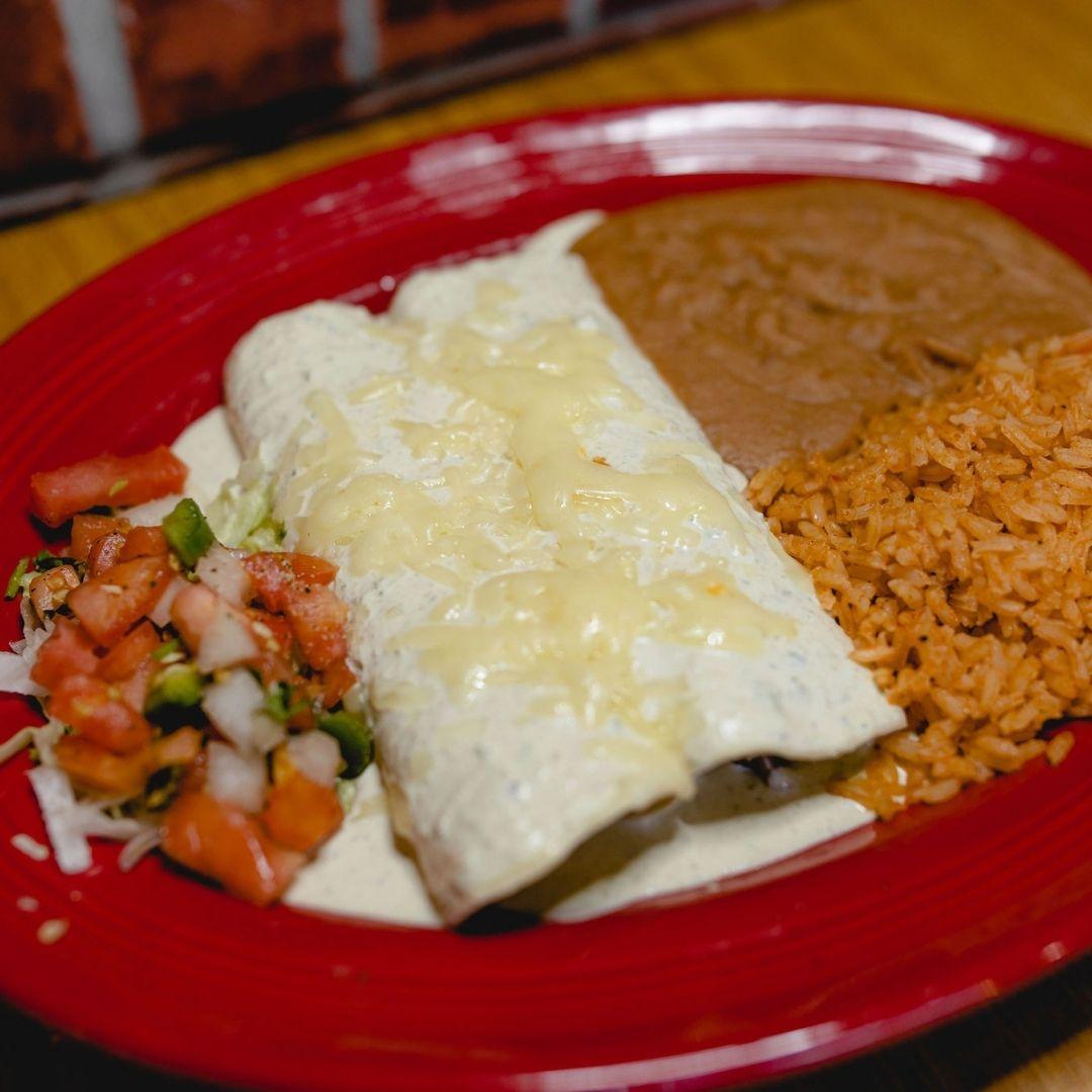 Masfajitas Tex-Mex and Mexican Spinach and Mushroom Enchiladas