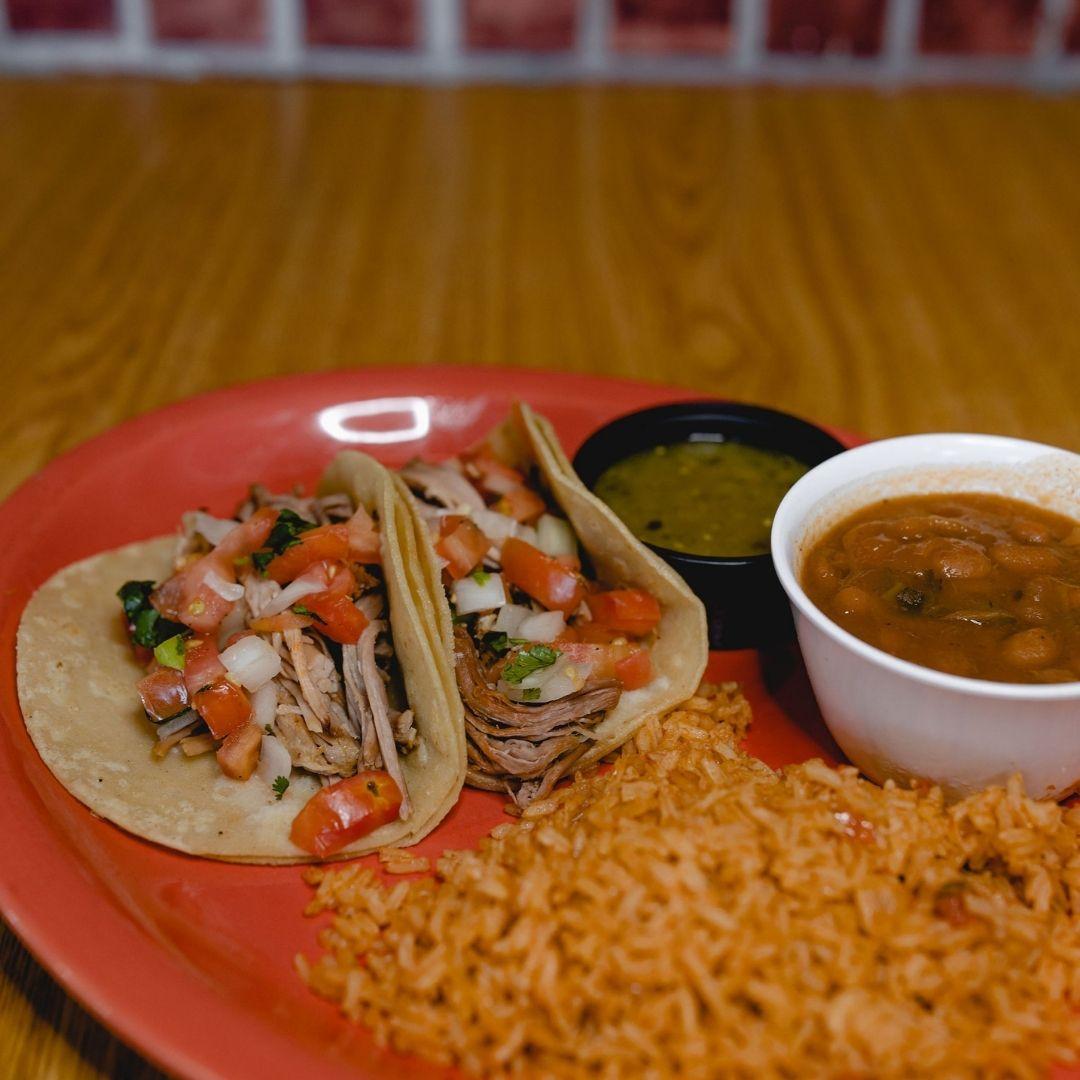 Masfajitas Tex-Mex and Mexican Carnitas Tacos