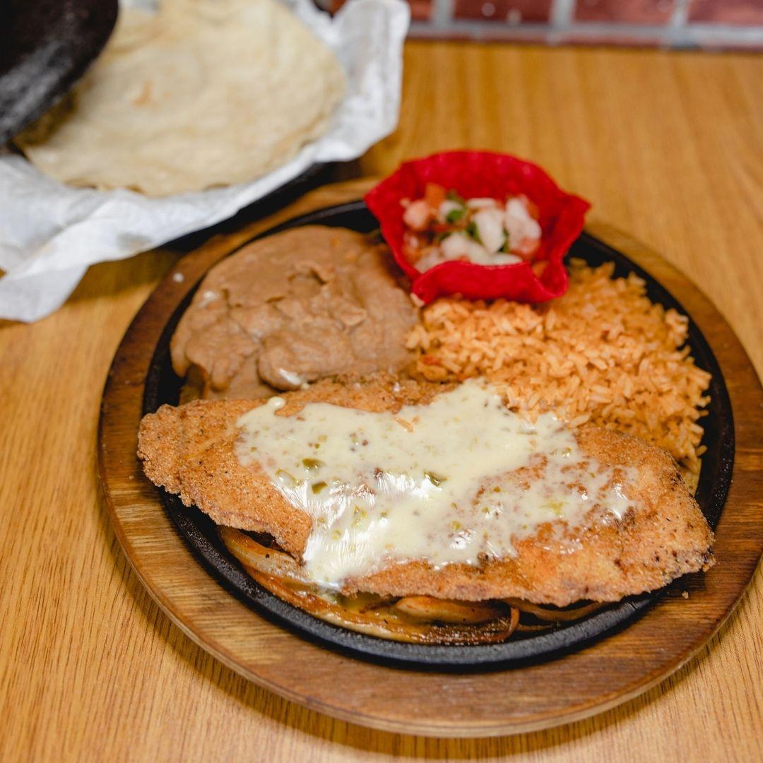 Masfajitas Tex-Mex and Mexican Beef Fajita Fried Steak