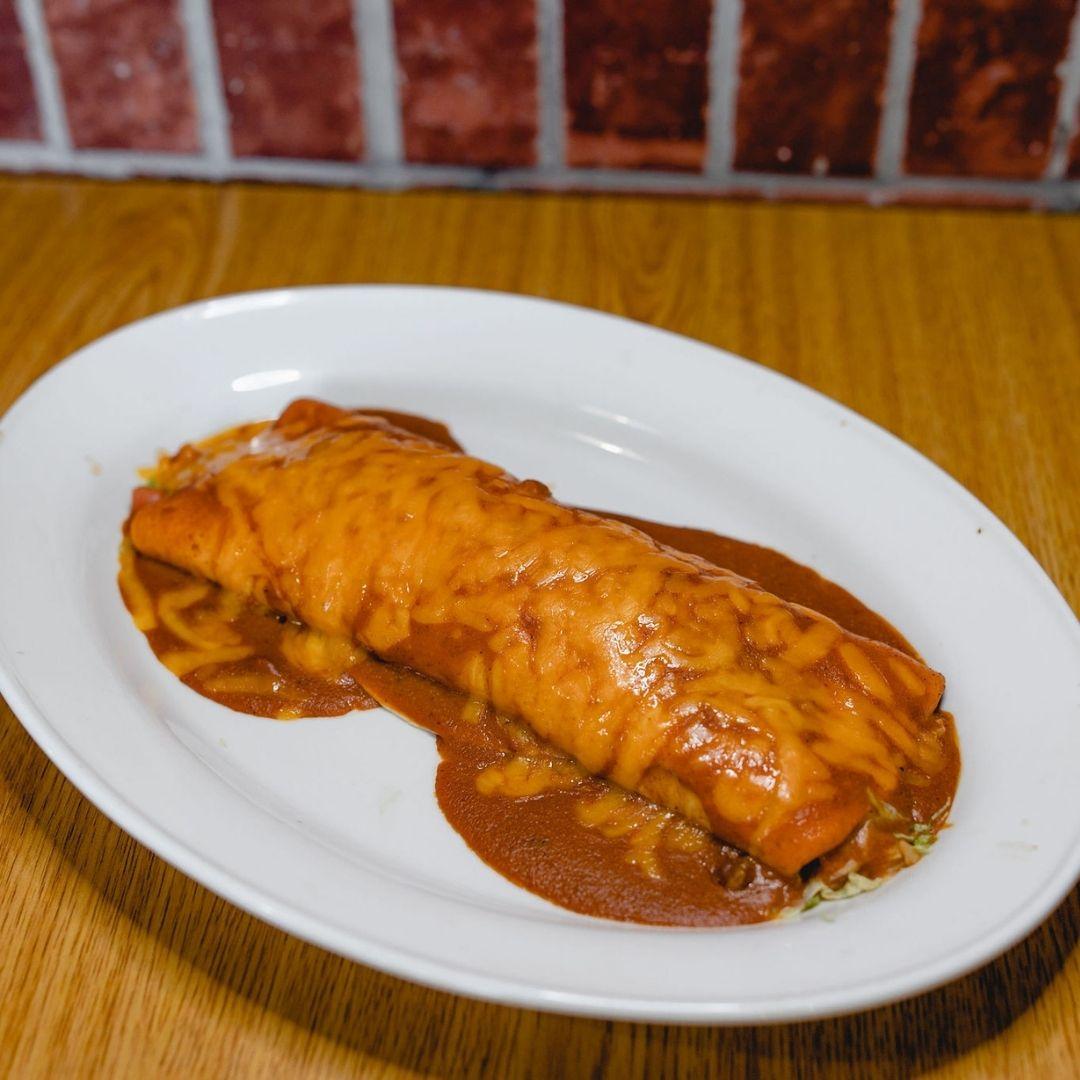 Masfajitas Tex-Mex and Mexican Dennis Burrito Grande