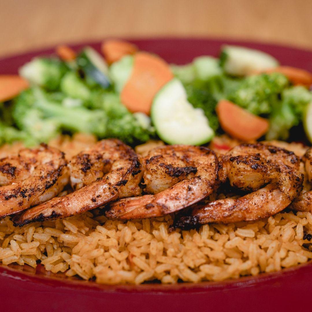 Masfajitas Tex-Mex and Mexican Skewered Shrimp