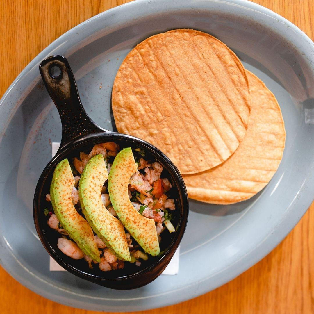 Masfajitas Tex-Mex and Mexican Ceviche Bowl