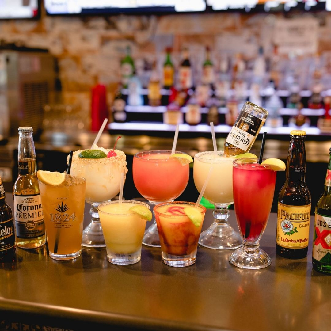 Masfajitas-College Station Tex-Mex and Mexican Restaurant Margaritas, Beers, Long Island Teas, and more drinks
