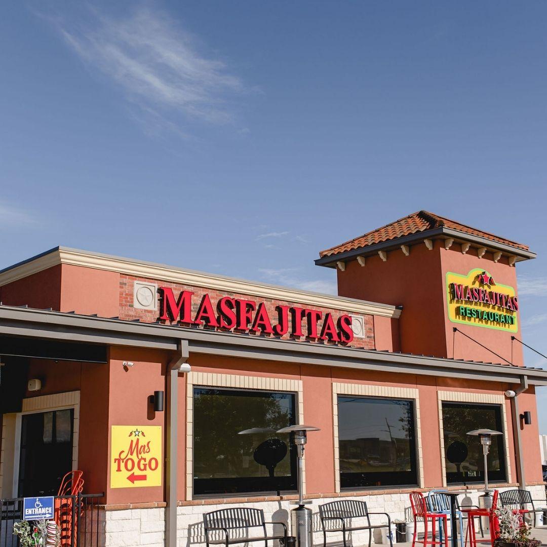 MasFajitas-College Station Tex-Mex Restaurant Outside