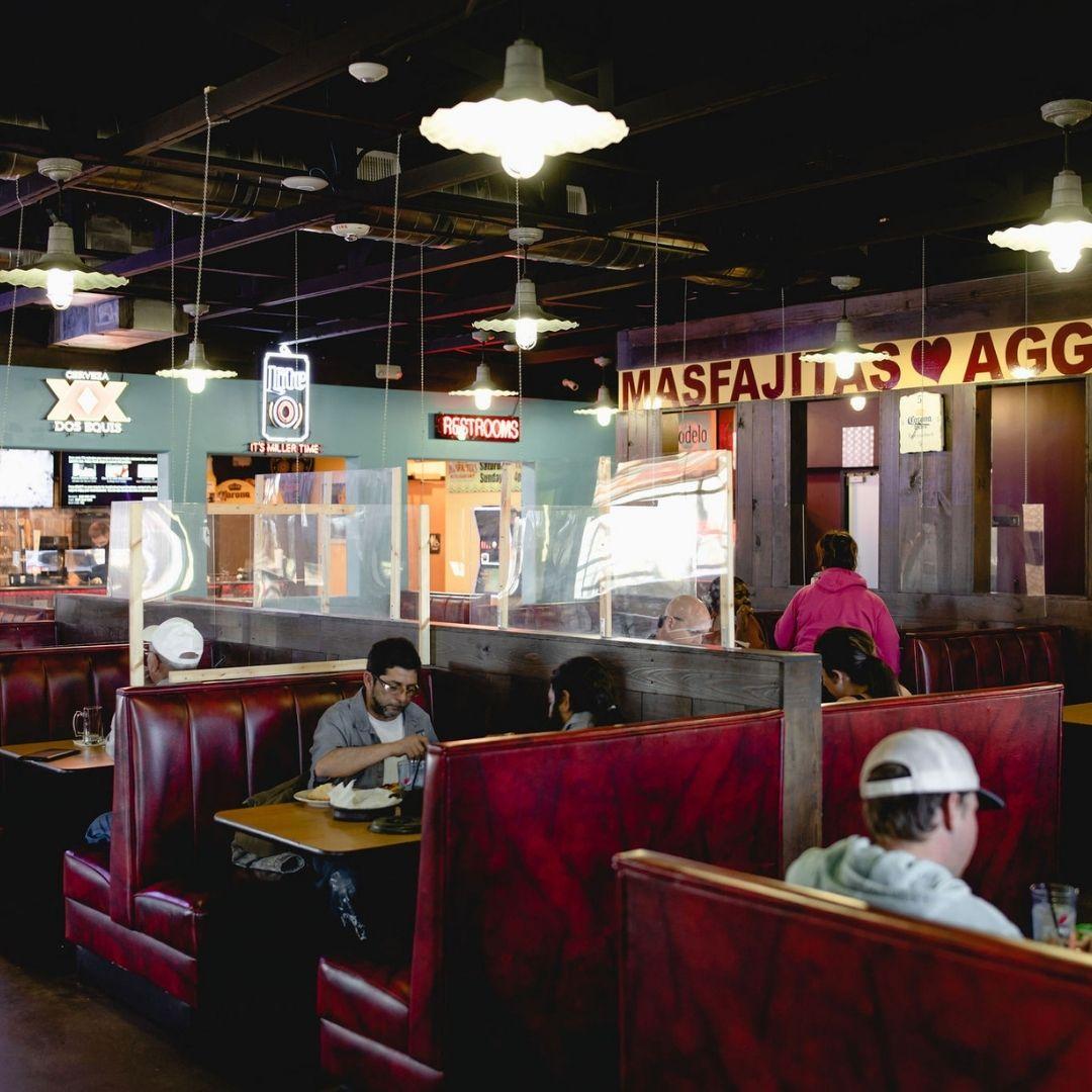 Masfajitas Tex-Mex and Mexican Inside Restaurant
