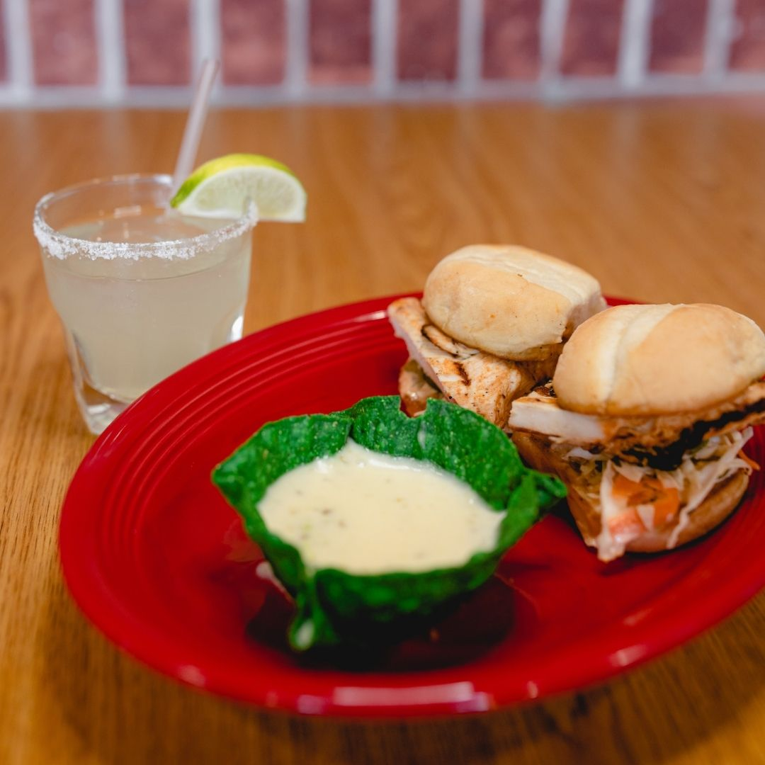 Masfajitas-College Station Tex-Mex and Mexican Restaurant Happy Hour Chicken Sliders