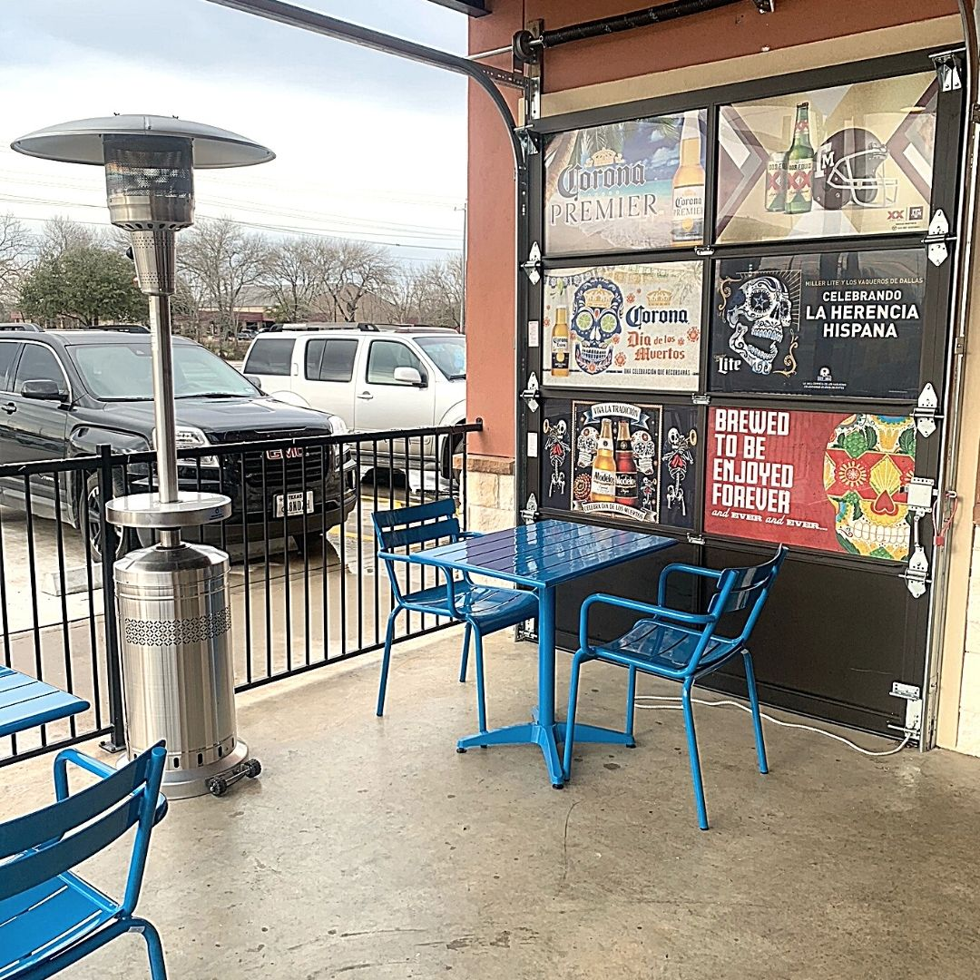 Masfajitas-College Station Tex-Mex and Mexican Restaurant Outdoor Seating