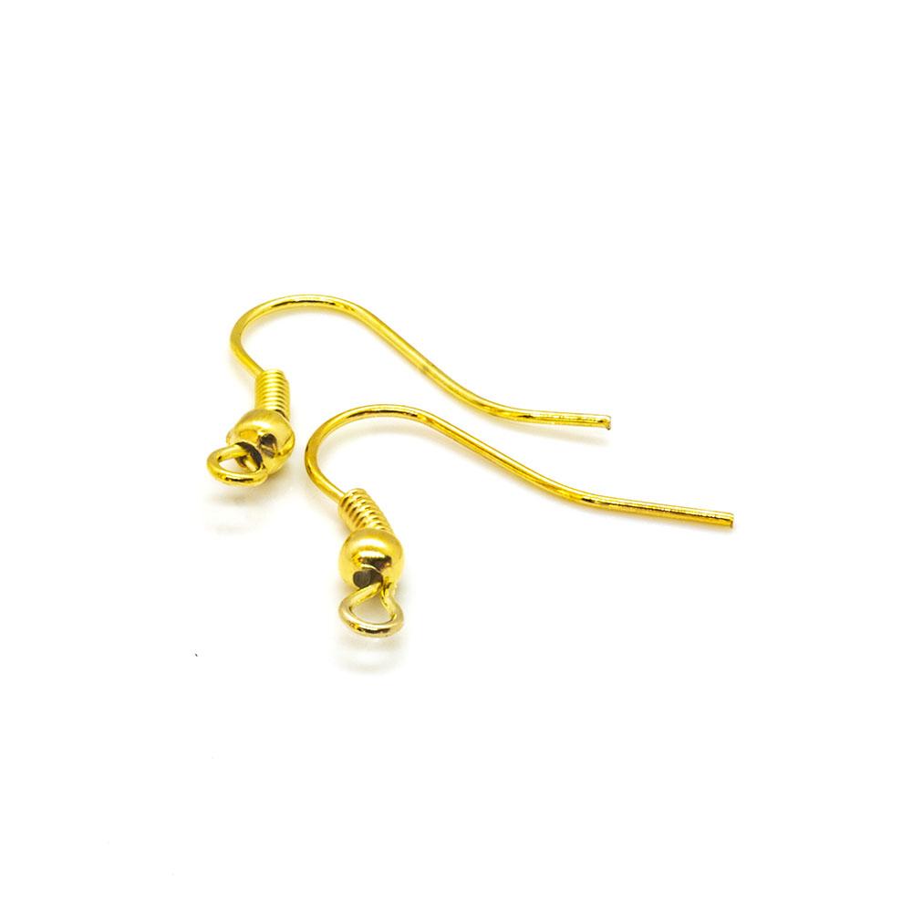 Earhooks Twist - 19x16mm - one pair