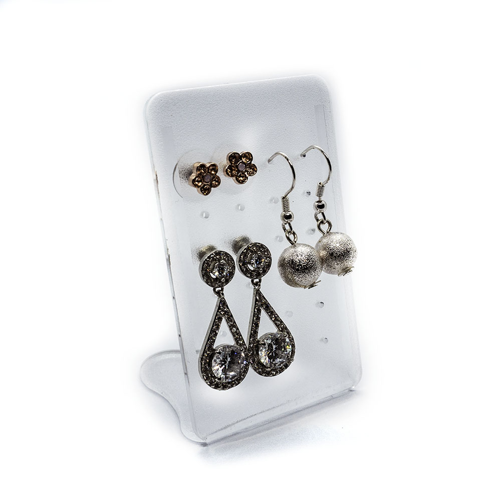 Acrylic Earring Display Stand - 47x76x38mm