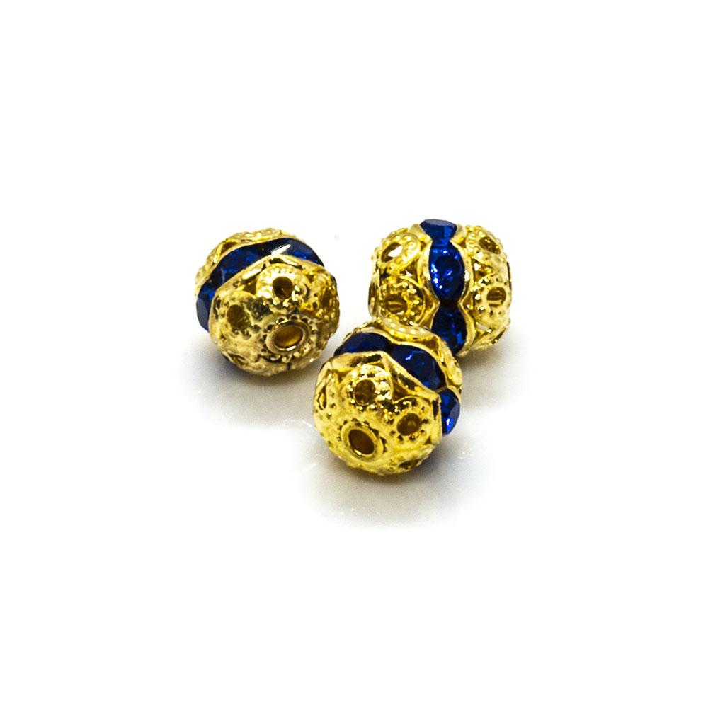 Rhinestone Ball - 6mm