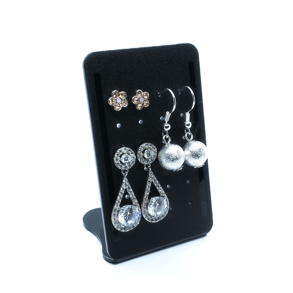 Acrylic Earring Display Stand 47mm x 76mm x 38mm