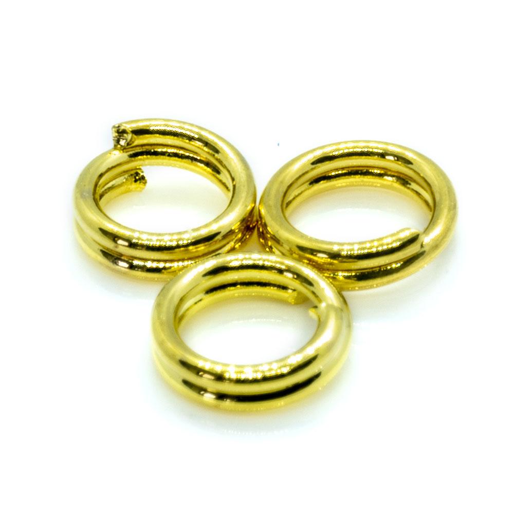 Split Ring - 4mm - 20pc