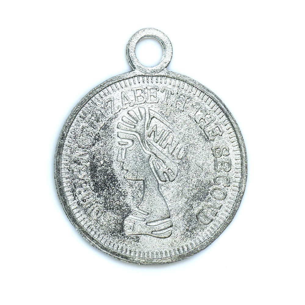 Coin Pendant - 20mm - 1pc