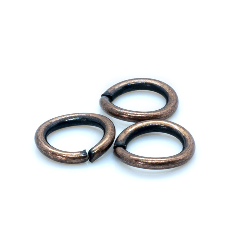 Jump Rings Round - 6mm -20pc