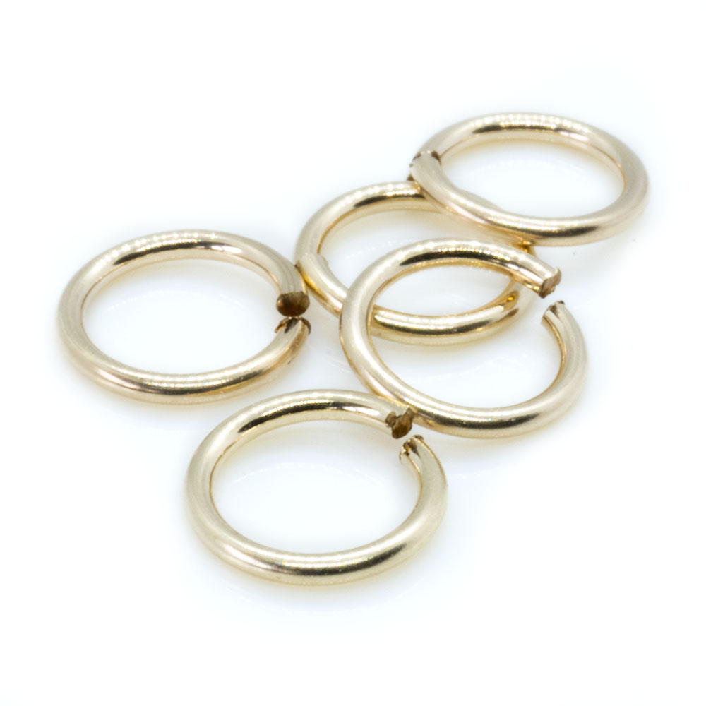 14k Gold Filled Jump Rings - 5mm